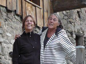 Daphnée et Françoise au Villard