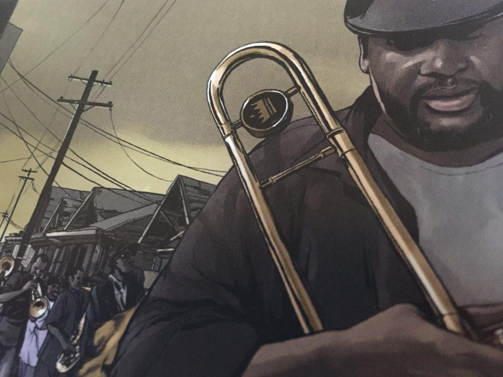le jazz est né aussi comme cela